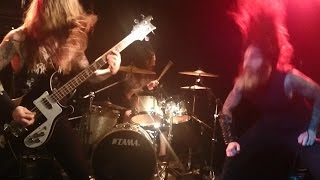 Skeletonwitch - Burned From Bone/This Horrifying Force... @ Ivory Blacks Glasgow Scotland 12/8/14
