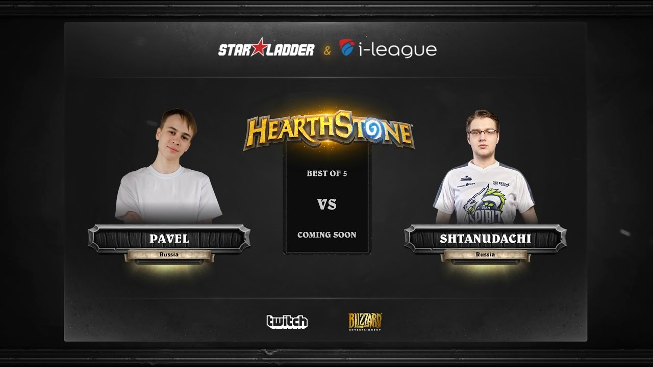 [EN] Pavel vs ShtanUdachi | SL i-League Hearthstone StarSeries Season 3 (18.05.2017)