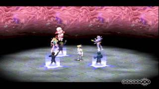Shin Megami Tensei: Persona 2: Innocent Sin - Wheel of Fortune Gameplay (PSP)