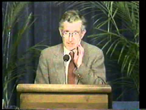 Noam Chomsky: THE LYING elites GAME (1991) - Part 1 of 2