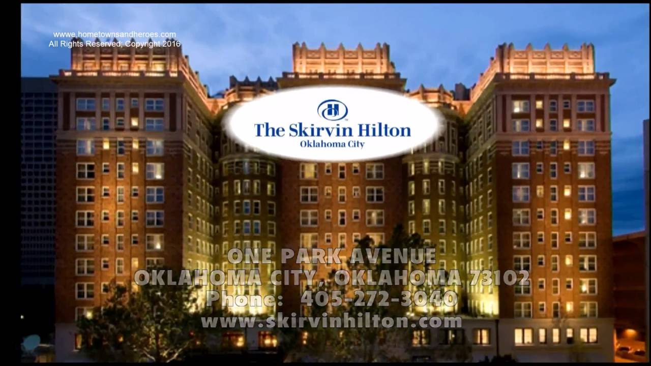 Hilton Skirvin Hotel Oklahoma City Landmark With Ghost Stories