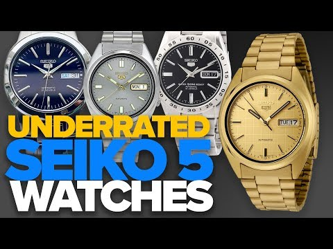 Underrated Seiko 5 Watches ($60-$150)