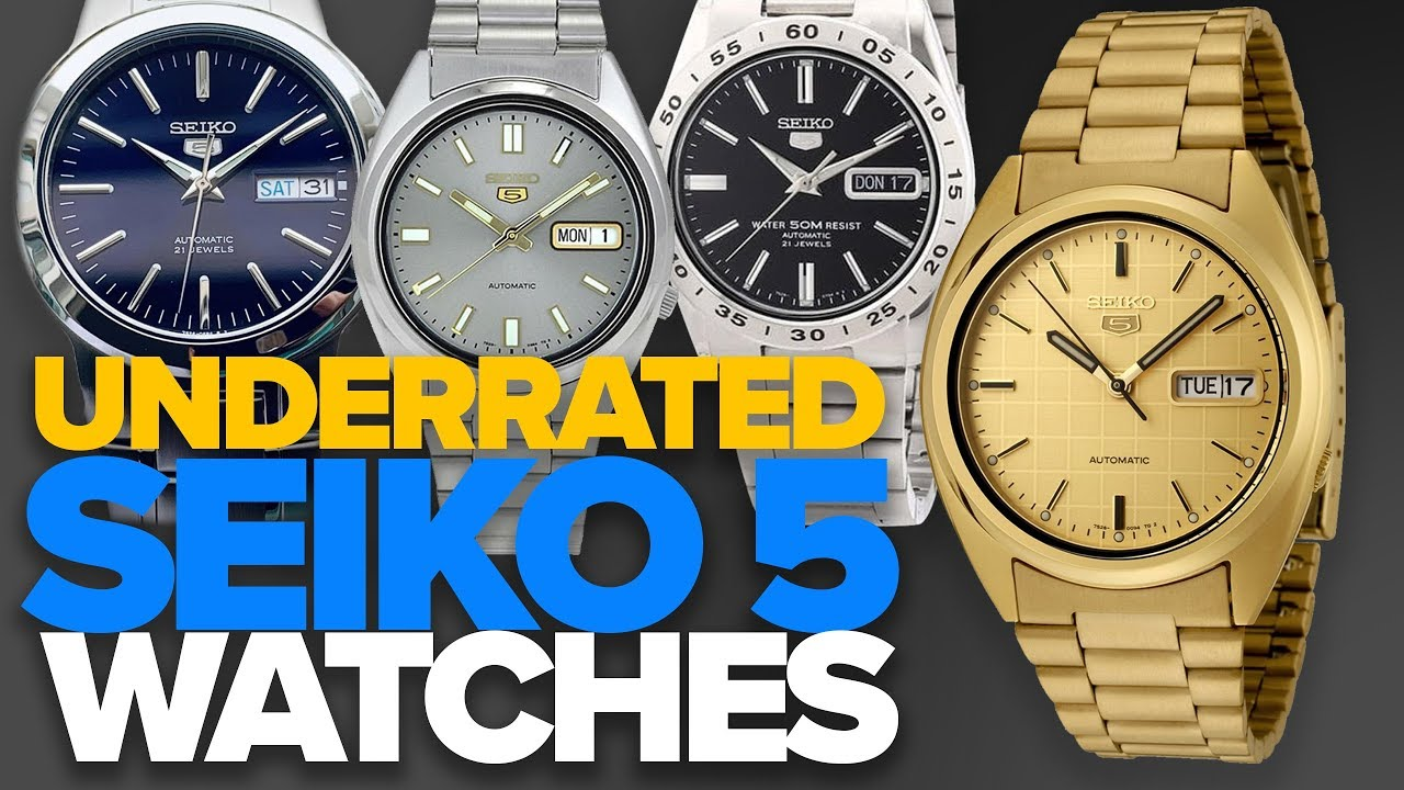 Underrated Seiko 5 Watches 60 150 Youtube
