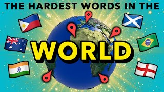Baixar People Try To Pronounce The HARDEST Words From Around The World (India, UK, Philippines & MORE)