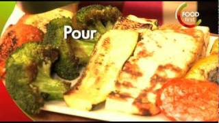 How to cook Grilled Vegetable Platter - Healthy Food - simple quick easy - for kids