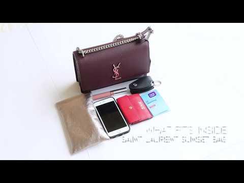 c4bb3260e14 Saint Laurent Sunset Bag Review – Vauntr