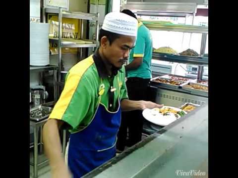 Street food Malaysia ; Nasi Kandar