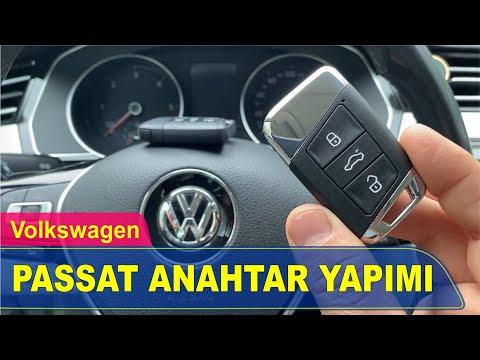 Volkswagen Passat Anahtar Yapımı | Yedek Kopyalama - Oto Anahtarcı İstanbul