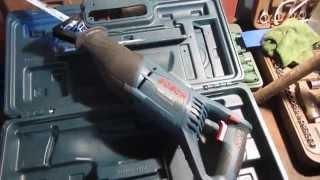 Обзор сабельной пилы Bosch GSA 1100 E для распила кузова авто