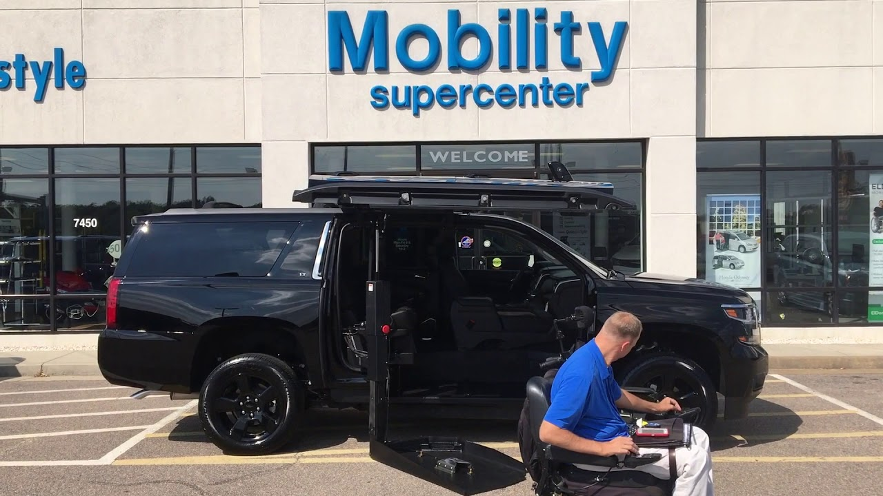1bc4bfb61f10 MSC Chevy Suburban SUV Wheelchair Accessible Vehicle. Mobility Supercenter