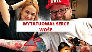 16 milionów wpłaty na facebook - zrobiłem tatuaż WOŚP - Jurek Owsiak