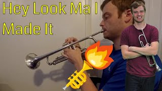 Hey Look Ma I Made It -- Trumpet Cover by Carter Miller