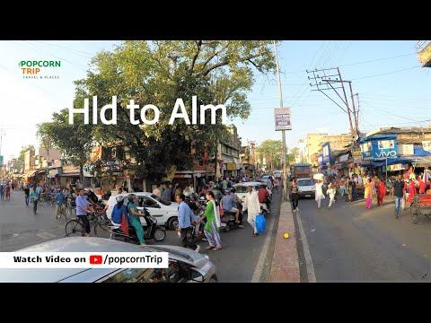 हल्द्वानी से अल्मोड़ा, Haldwani to Almora journey by road