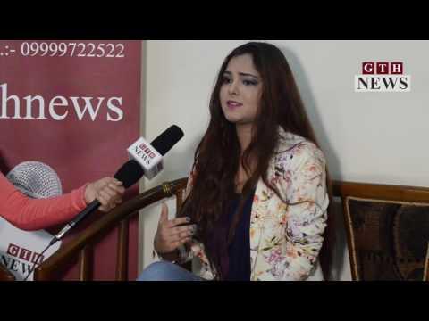 Singer Shraddha Sharma with GTH News