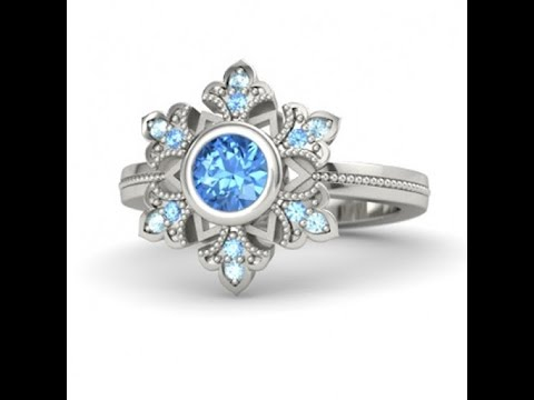 25ed90bb2 Disney Engagement Rings Perfect For Your Happily Ever After - YouTube