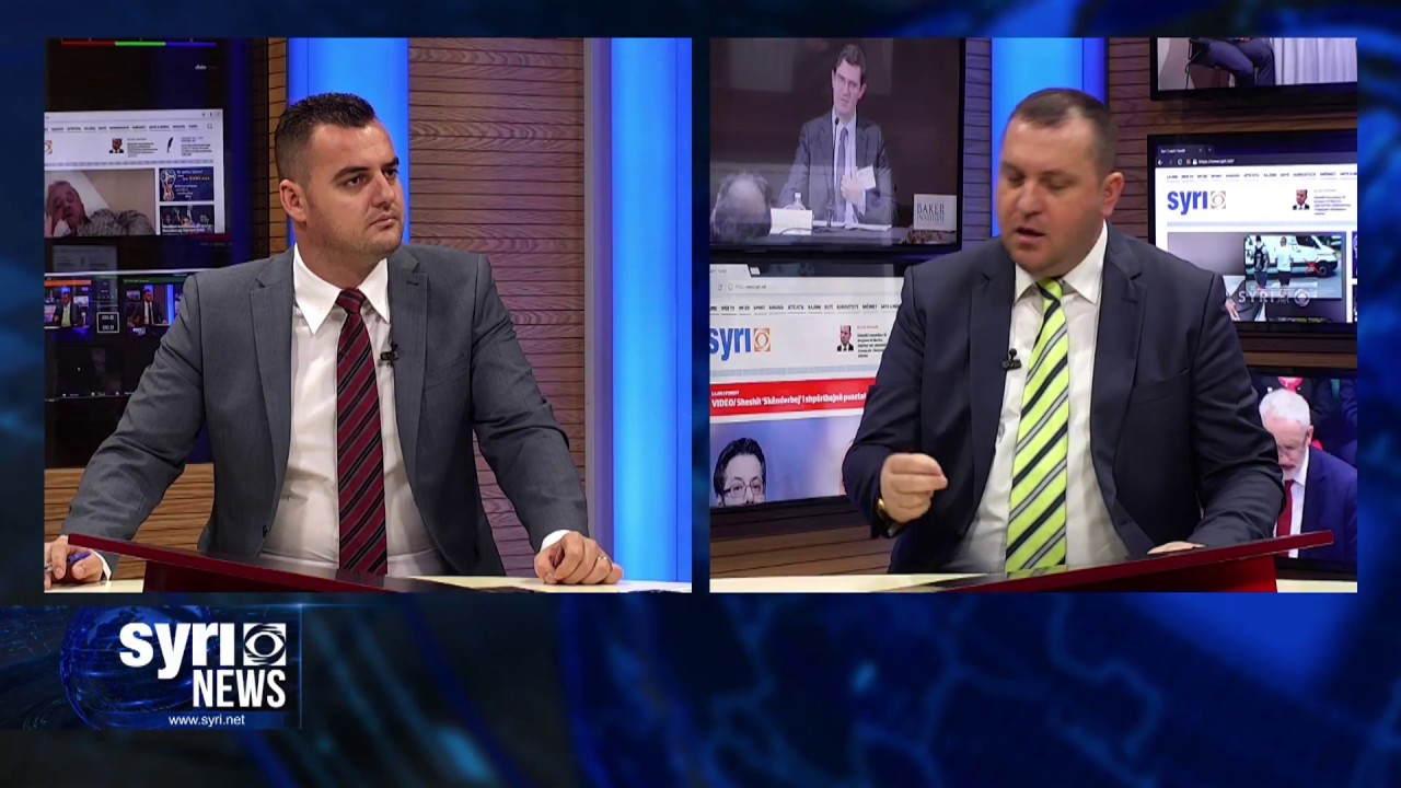 Intervista ne Syri Net i ftuar ne studio Kreshnik Osmani