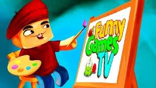 Пиксель Художник видео для детей развивающая игра про рисование Pixel Painter рисуем с FGTV