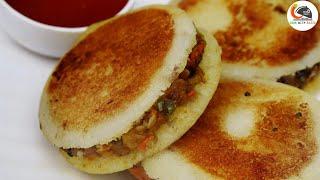 सूजी और आलू से बनाएं बेहतरीन नाश्ता जिसे देखते ही भूक दस गुना बढ़ जाएं || Idli Burger Recipe