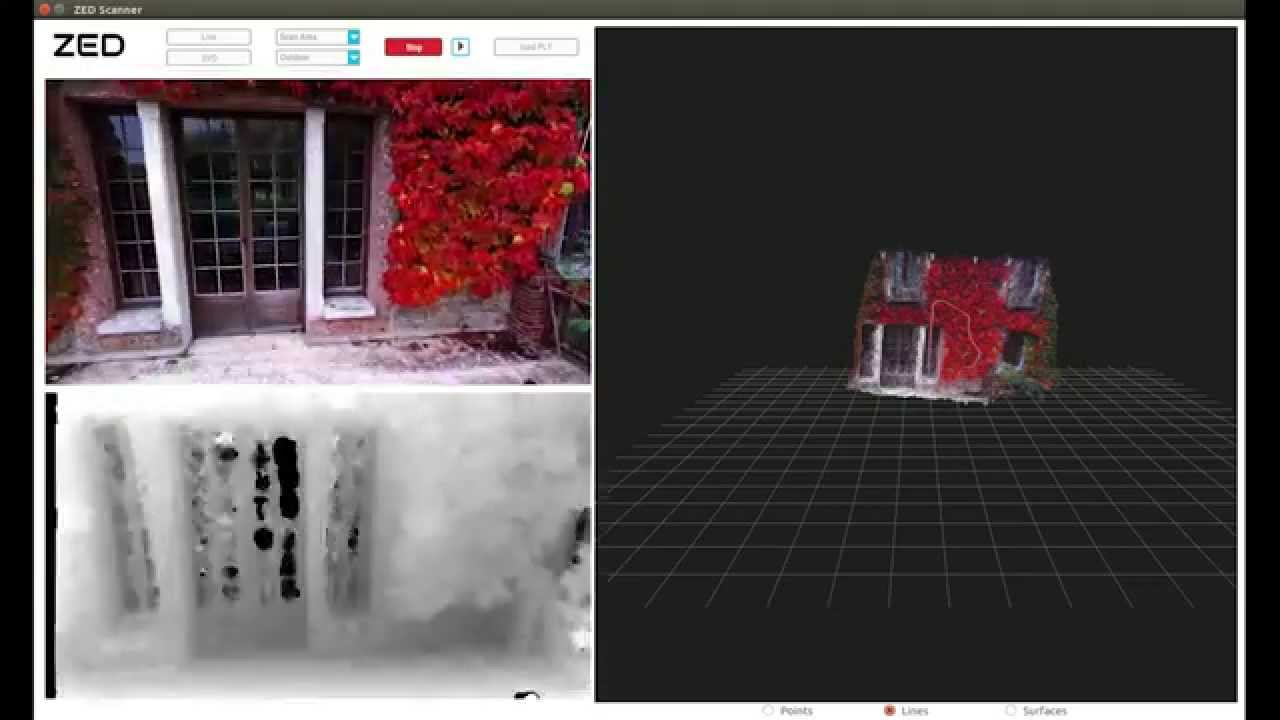 Introducing ZED for Live 3D Mapping