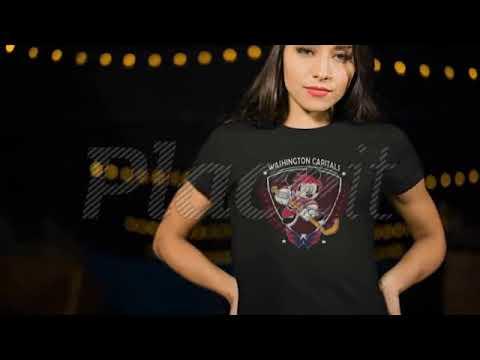 NHL Hockey Mickey Mouse Team Washington Capitals Shirts - YouTube 354e53aeb