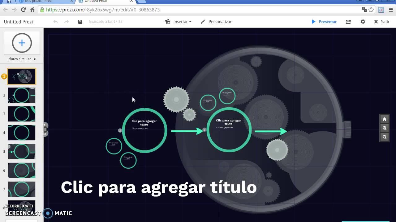 HERRAMIENTAS WEB 2.0 (PREZI) TUTORIAL - YouTube