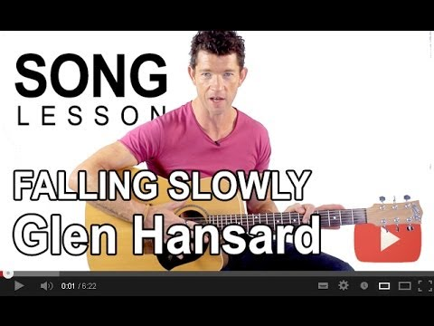 How to Play Falling Slowly by Glen Hansard on Guitar with Mark Mckenzie