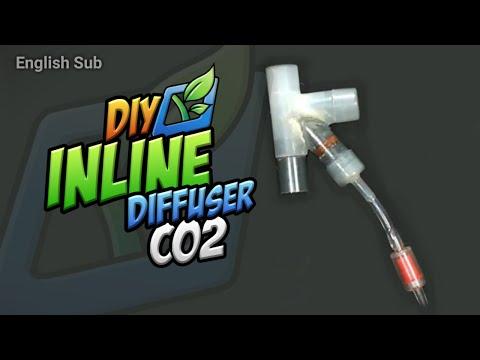 Diy In Line Diffuser Co2 Mudah & Murah