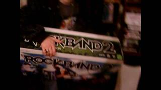 Won a Rock Band 2 Special Edition Bundle via Pepsi Drink up Rock out Contest