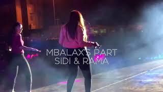 Sidi et Rama ( Live ) Colobane place de l'oblelisque