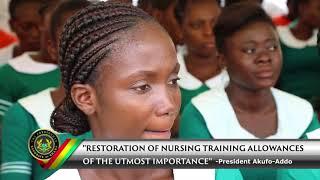 Restoration of Nurse-Trainee Allowances
