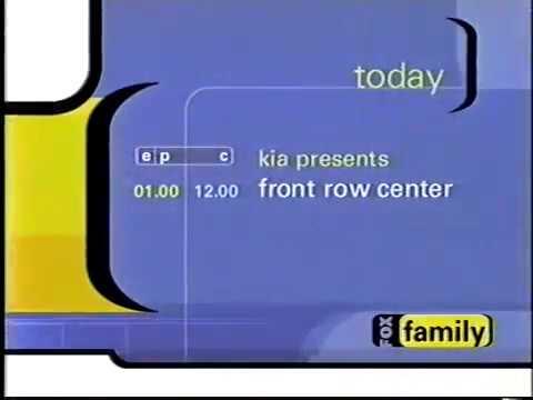 Front Row Center promo, 2001