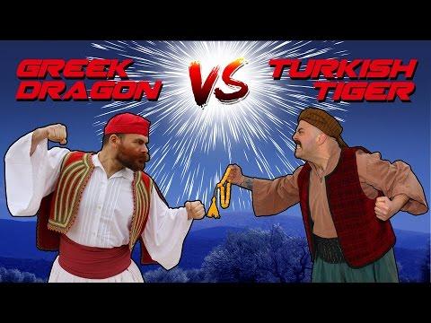 Greek Dragon VS Turkish Tiger