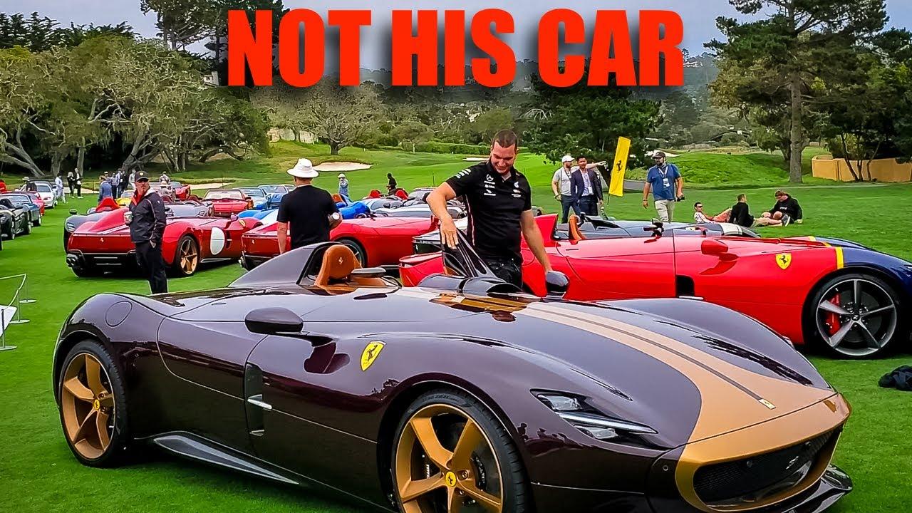 FERRARI FAIL: Drunken Man Vandalizes $2 Million Ferrari SP1