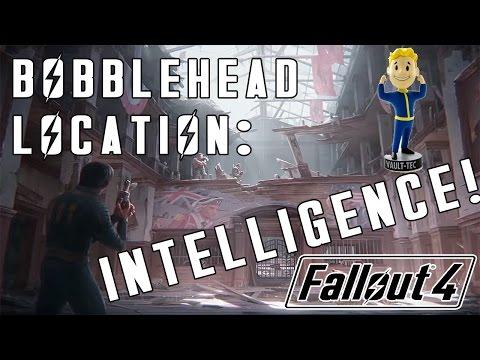 Fallout 4: INTELLIGENCE Bobblehead Location - Boston Public Library!