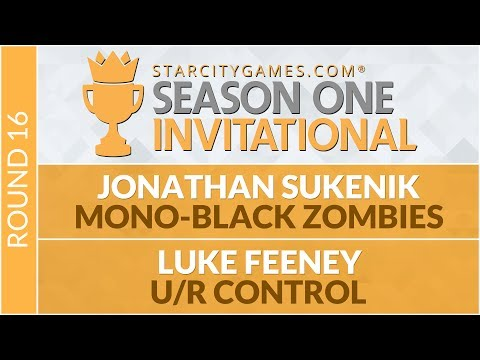 SCGINVI - Round 16 - Jonathan Sukenik vs Luke Fenney [Standard]