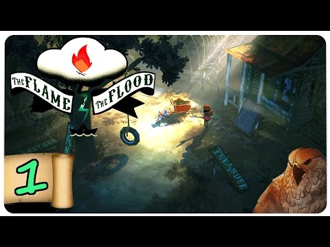 The Flame in the Flood Part 1 | Full Release! | Let's Play | The Flame in the Flood Gameplay