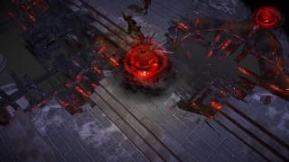 Path of Exile: Dark Cyclone Skill Effect