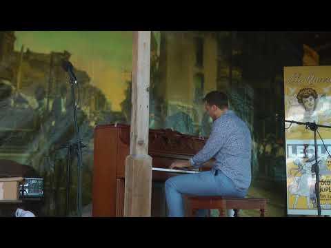 """""""SPANISH SWAT"""": MAX KEENLYSIDE (Scott Joplin Ragtime Festival, May 31, 2018)"""