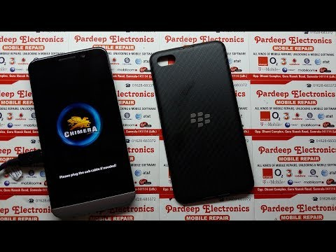 BlackBerry Remove ID Anti Theft Protection Z10, Z30, Q5, Q10, Q20, etc !! Chimera Tool