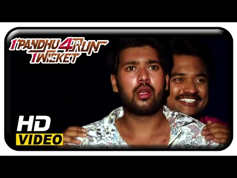 1 Pandhu 4 Run 1 Wicket Tamil Movie | Scenes | Vinai Krishna Fears The Ghost | Jeeva