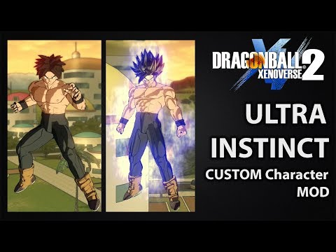 Ultra Instinct Transformation & Aura for Custom Character (Cac