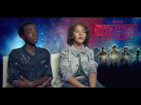Caleb McLaughlin and Gaten Matarazzo talk Stranger Things ...