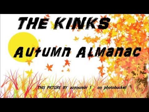 Autumn Almanac, The Kinks, lyrics.