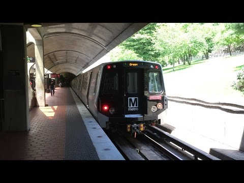 Washington Metrorail HD 60 PFS: WMATA Red, Green, & Yellow Line Trains @ Fort Totten 6/6/16