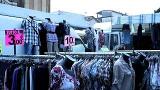Mercoledì di mercato a Trebaseleghe (PD).