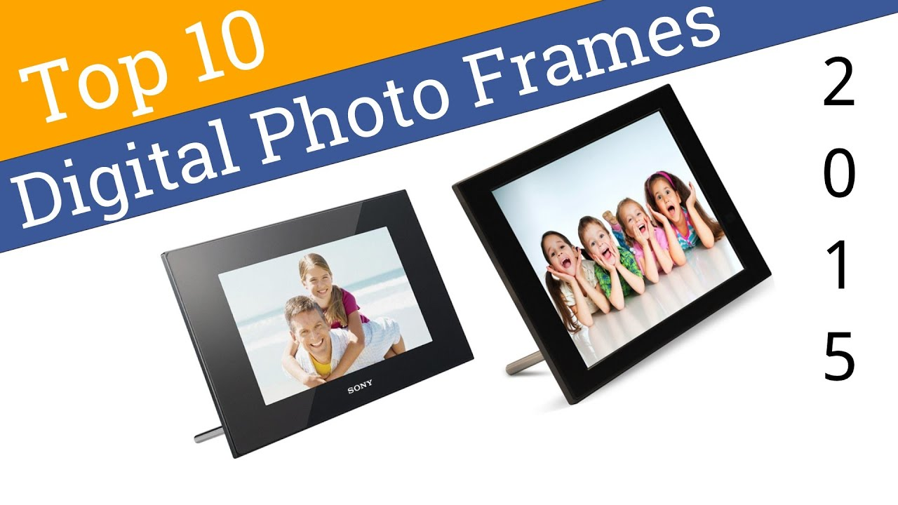 10 best digital photo frames 2015