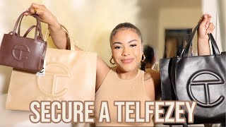 HOW TO GET A TELFAR BAG 2021 (UNBOXING, COLLECTION & SIZE COMPARISON)