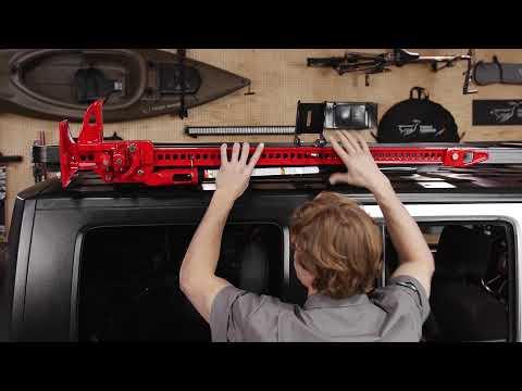 Hi-LIFT JACK HOLDER FOR SLIMLINE II ROOF RACKS - by Front Runner