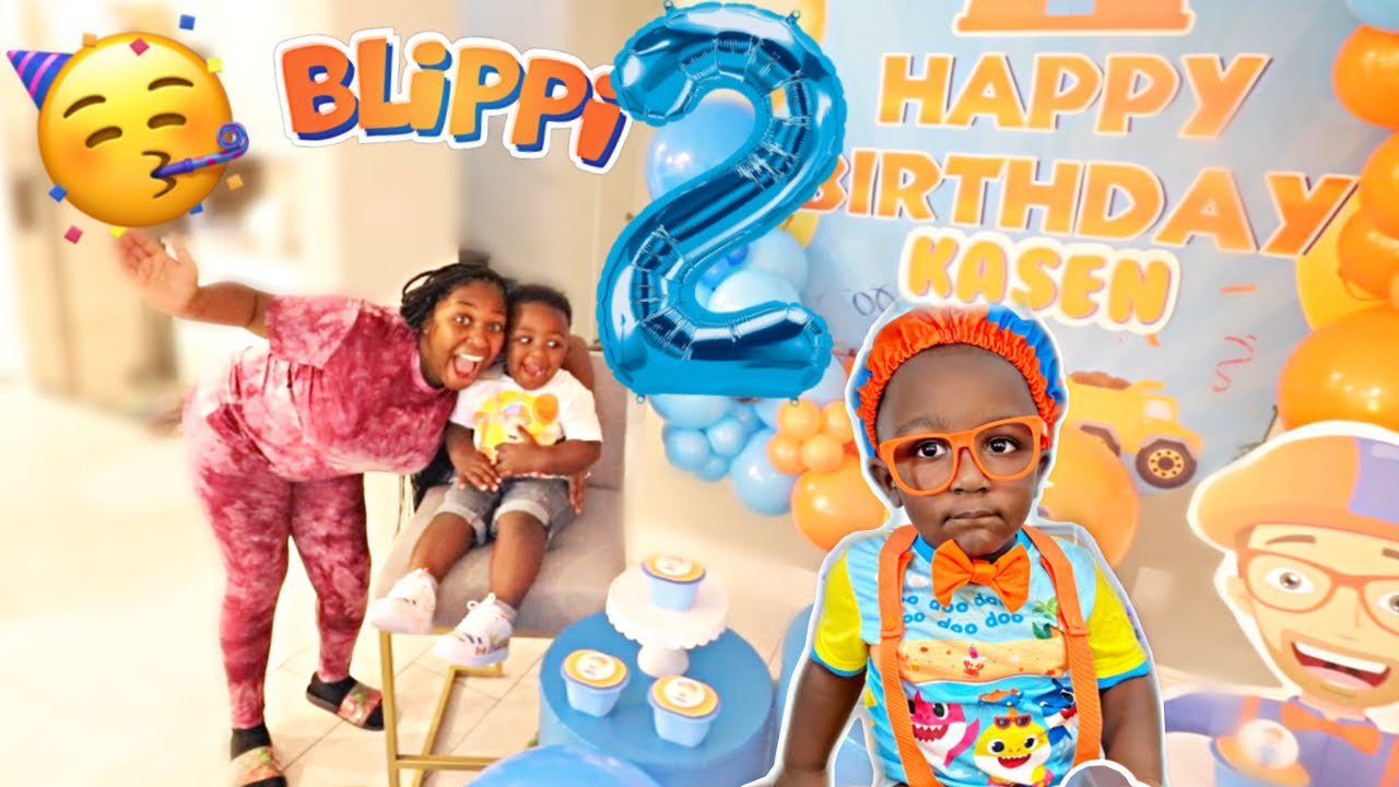 BABY KASEN'S OFFICIAL 2ND BIRTHDAY PARTY SPECIAL!!!