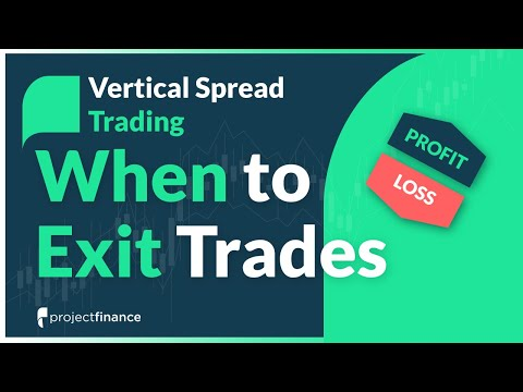 Vertical Spread Trading | When to Take Profits & Losses